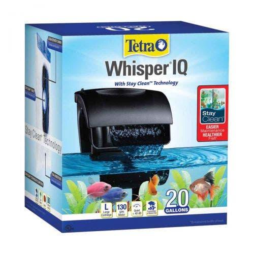 Tetra whisper IQ filter 20 fish