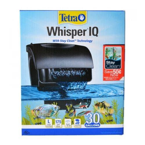Tetra whisper IQ filter 30 fish