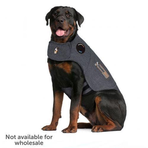 Thundershirt sport extra extra large light grey dog