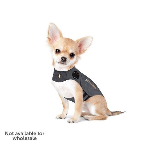 Thundershirt sport extra extra small light grey dog