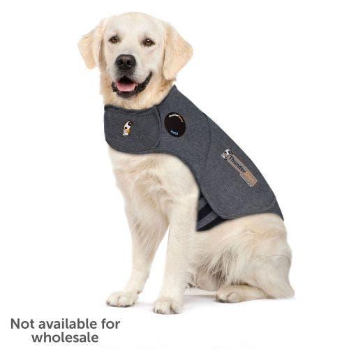 Thundershirt sport extra large light grey dog