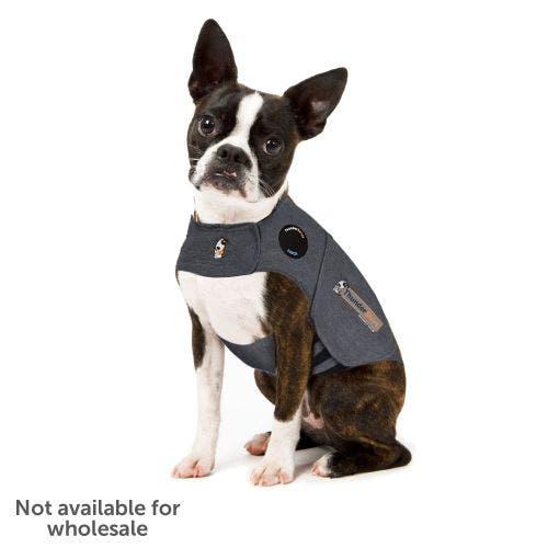 Thundershirt sport extra small light grey dog