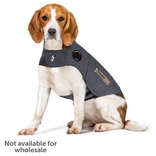 Thundershirt sport medium light grey dog