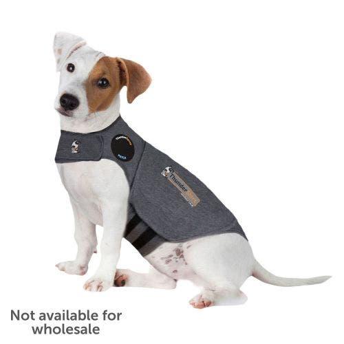 Thundershirt sport small light grey dog