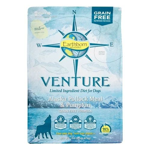 Venture 25lb pollock pumpkin dog food