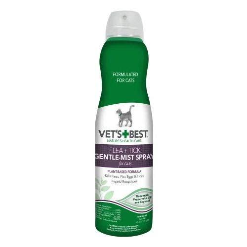 Vets Best cat 6.3oz gentle mist spray cat grooming