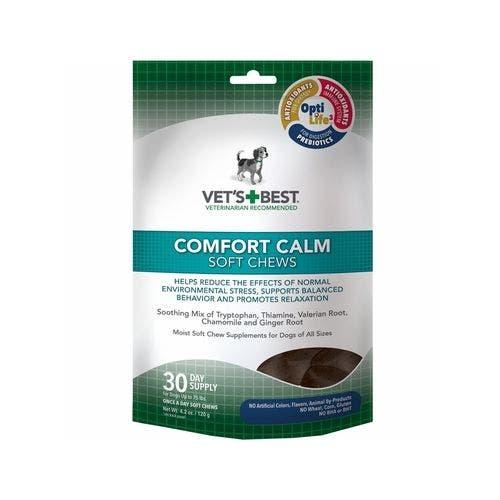 Vets Best 4.2oz comfort calm chews dog grooming