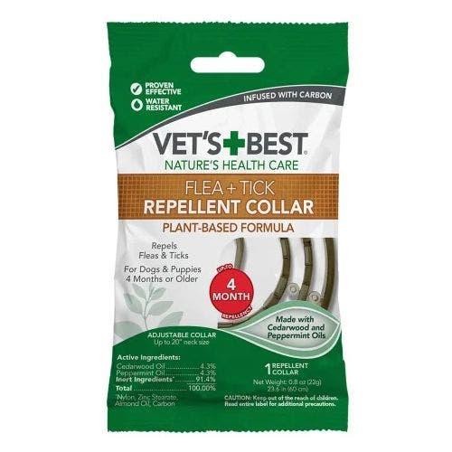 Vets Best repellent dog collar dog grooming