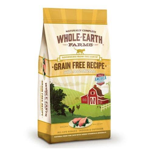 Whole earth cat 15lb grain free chicken