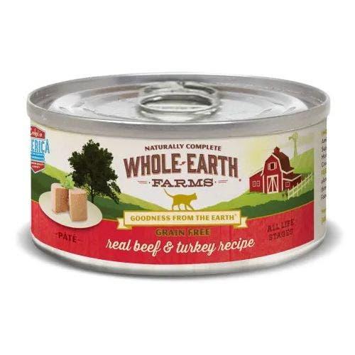Whole earth cat 2.75oz beef turkey