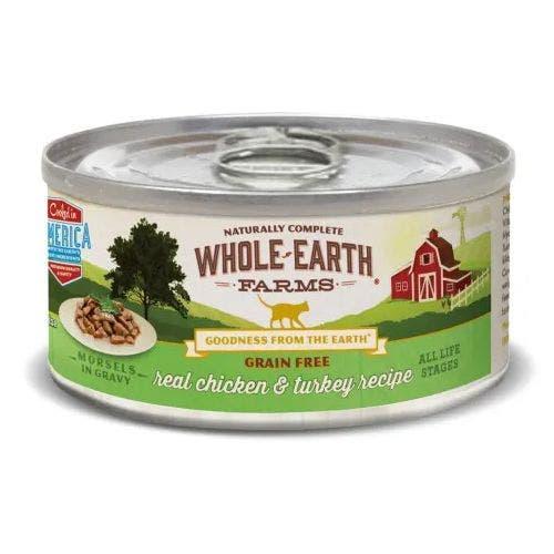 Whole earth cat 5oz chicken turkey