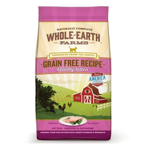 Whole earth cat 10lb grain free turkey duck
