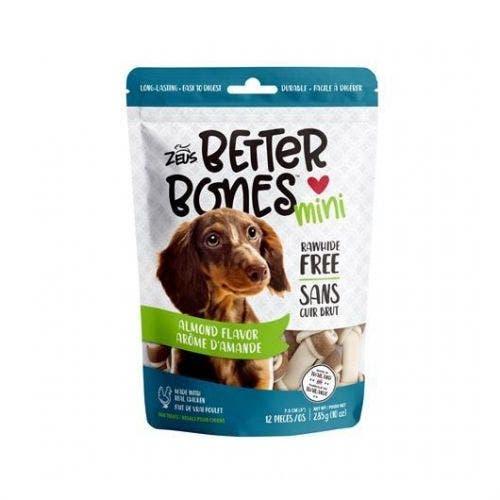 Zeus Better Bones 12 pack almond dog treats