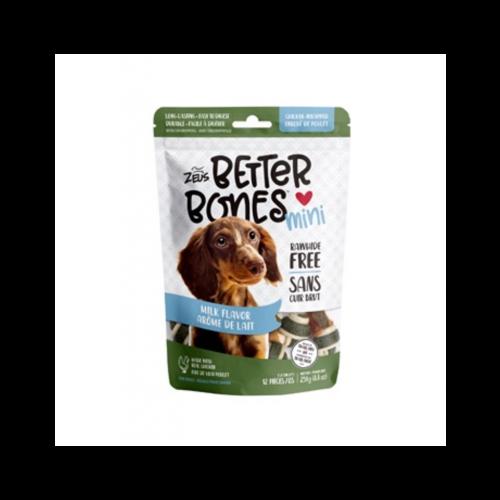 Zeus Better Bones 12 pack milk chicken wrap dog treats