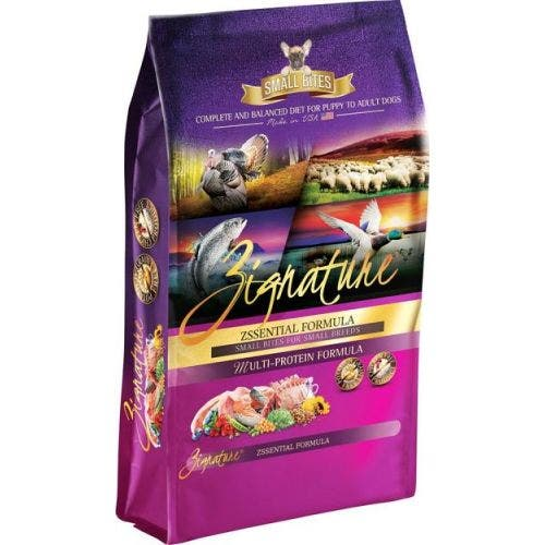 Zignature 27lb zssential dog food