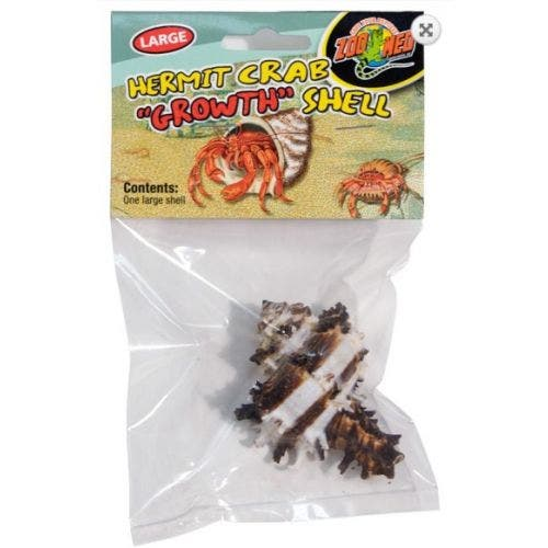 Zoomed Hermit Crab 2 Pack Growth Shell - medium