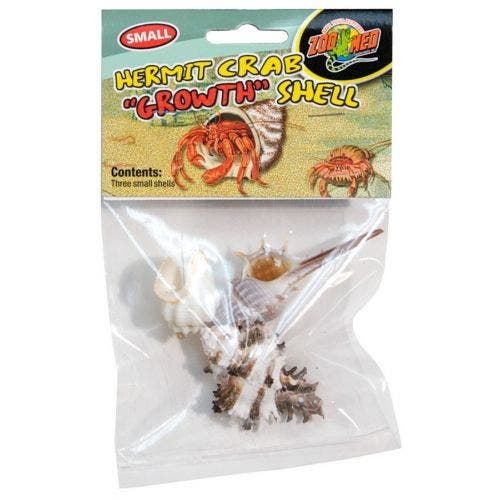 Zoomed Hermit Crab 3 Pack Growth Shell - small