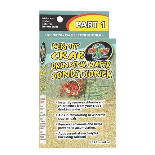 Zoomed Hermit Crab Drink Water Conditioner