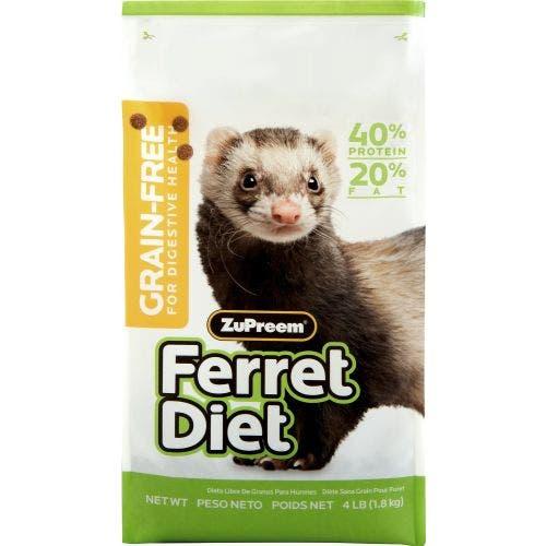 Zupreem 4lb ferret diet