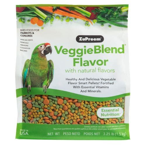 Zupreem Veggie Blend 3.25lb Bird Food