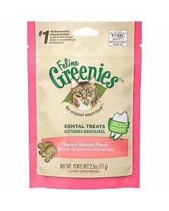 Greenies Feline 5.5oz Dental Salmon
