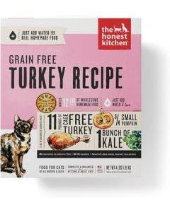Honest Kitchen Cat 4lb Grain Free Turkey