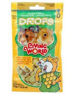 Living World small animal honey drops 2.6oz