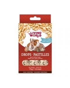 Living World small animal peanut drops 2.6oz