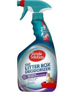 Simple Solutions Cat Litter Box 32oz Spray Deodorizer