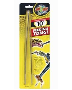 Zoomed Feeding Tongs 10 - stainless stell